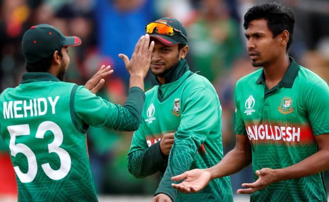 Mustafizur 2nd Bangladesh Bowler To Five Wicket Haul In a World Cup - Sakshi