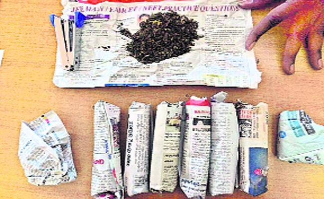 Youth Addicted To Drugs In Guntur - Sakshi