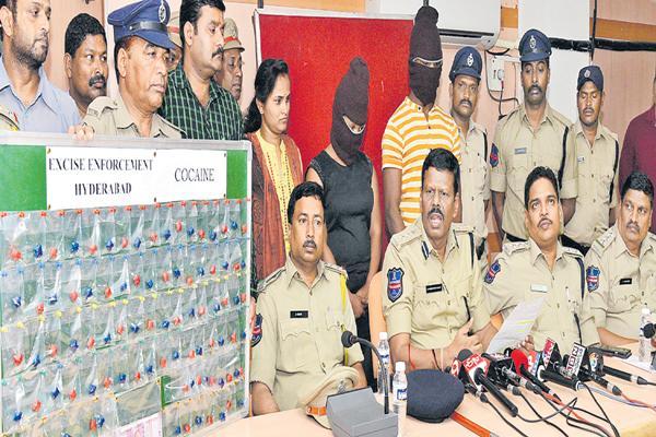 Drugs mastermind Ebuka arrested - Sakshi
