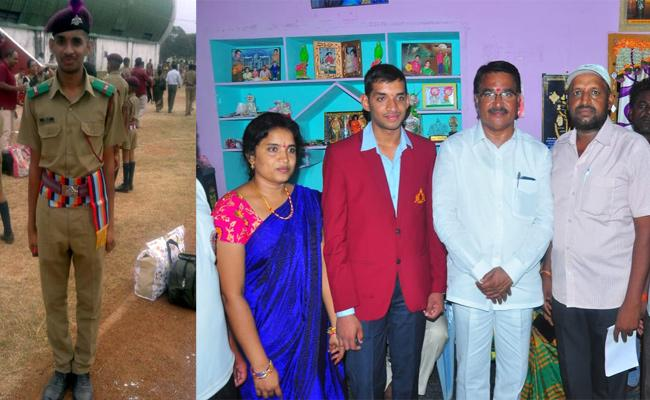 Telangana Student Selected In National Defence Academy  - Sakshi