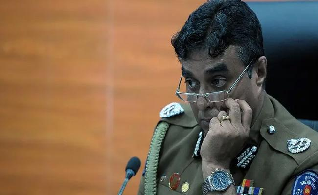 Sri Lankan Police Chief Arrested For Negligence Charges At Terror Attacks - Sakshi
