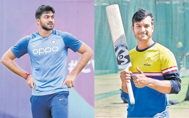 Mayank Agarwal to replace Vijay Shankar in India squad - Sakshi