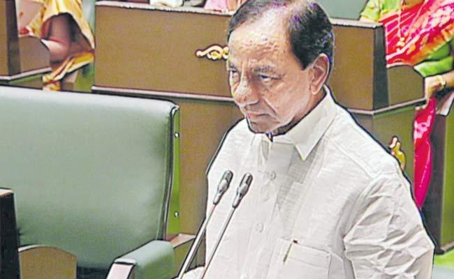 KCR Criticism On Government Employees  - Sakshi