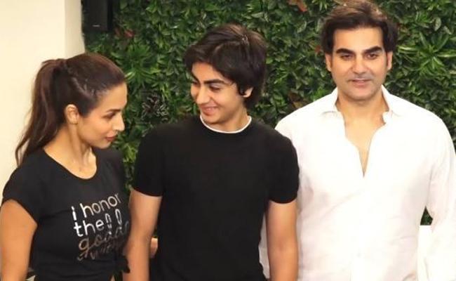 Arbaaz Khan Said Son Arhaan Keeps Us Bonded - Sakshi