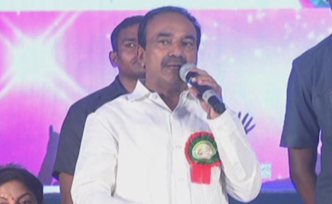 Etela Rajender comments In KMC DIamond Jubilee Function - Sakshi