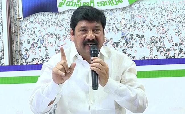 YSRCP Leader Jogi Ramesh Critics Lokesh And Chandrababu Naidu - Sakshi