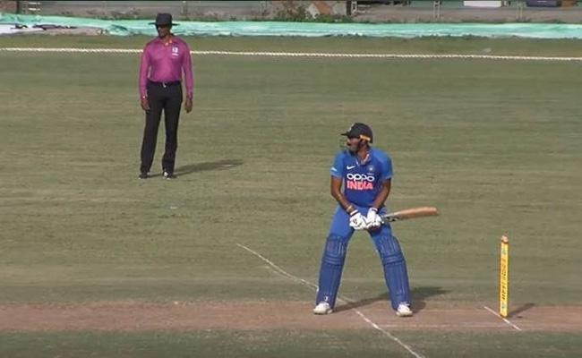 West Indies A Beat Team India By 5 Runs In 4th Unofficial ODI - Sakshi