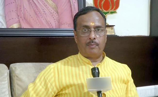 Not right of Priyanka to visit Sonbhadra, says Dinesh Sharma - Sakshi
