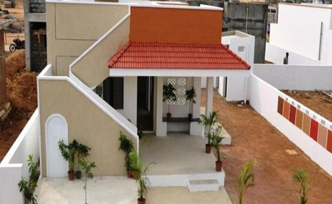 Double Bedroom Houses Record In India  - Sakshi