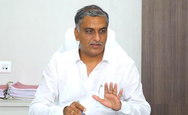 MLA Harish Rao At Siddipet Aasara Pension Programme - Sakshi