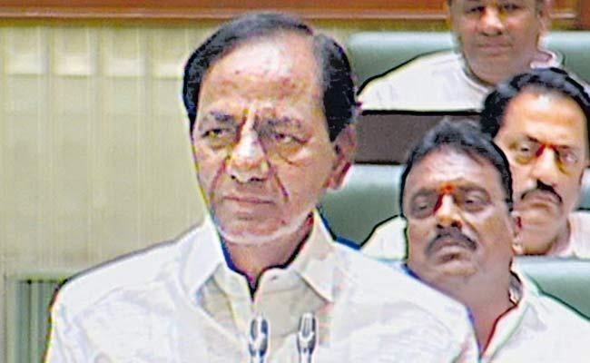 KCR On New Municipal Act In Assembly - Sakshi