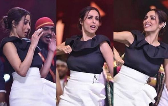 Malaika Flaunts Her Moves as She Appears as Guest Judge - Sakshi