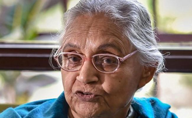 CM YS Jagan Expresses Condolence Over Sheila Dikshit - Sakshi