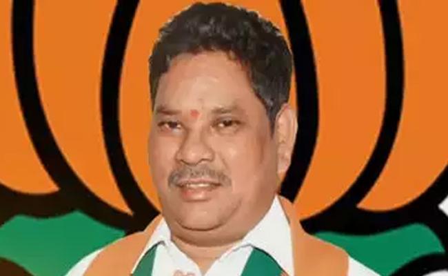 BJP MP Soyam Bapu Rao controversial statement on Harita haram - Sakshi