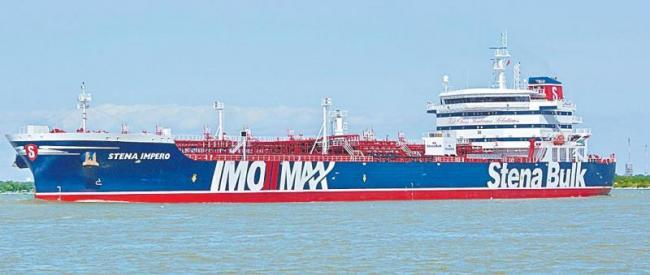 Iran seizes British tanker Stena Impero in Strait of Hormuz  - Sakshi