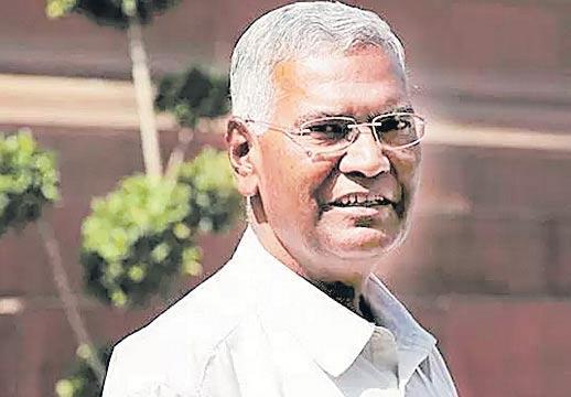 D Raja to take over as CPI general secretary replacing Sudhakar Reddy - Sakshi