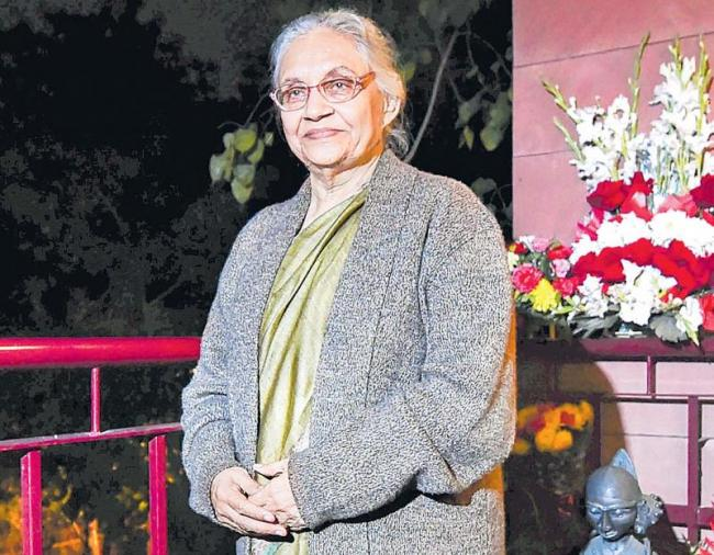 delhi former cm sheila dixit hattric record of chief minister - Sakshi