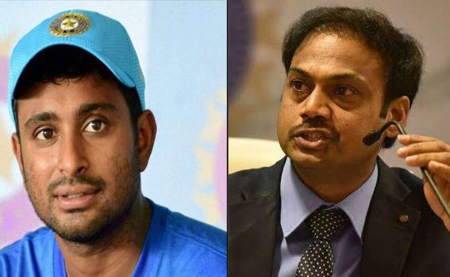 MSK Prasad Says Enjoyed Reading Rayudu Timely Tweet - Sakshi