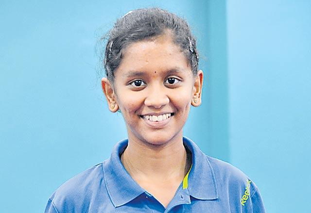 15 paddlers qualify for main draw Commonwealth Table Tennis Championship - Sakshi