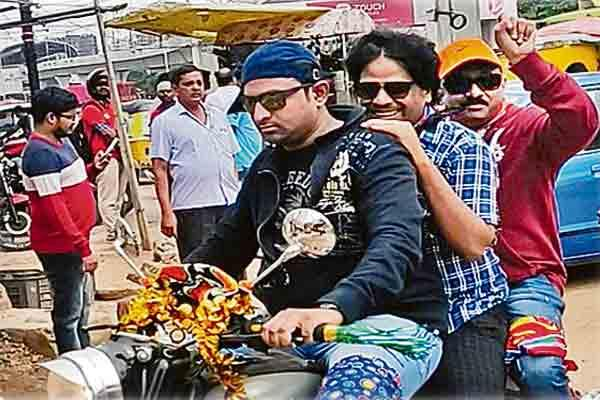 Cyberabad Traffic Police E-Challan imposed to Ramgopal Varma - Sakshi
