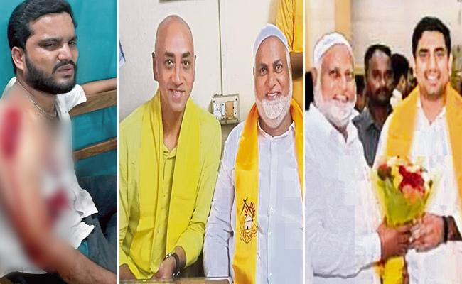 Galla Jayadev Close Aids Rowdyism in Guntur - Sakshi