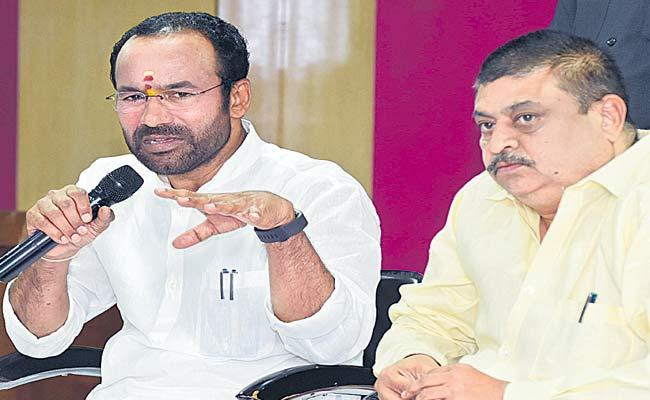 Union Minister Kishan Reddy Says All Police Stations Connect Through Online - Sakshi