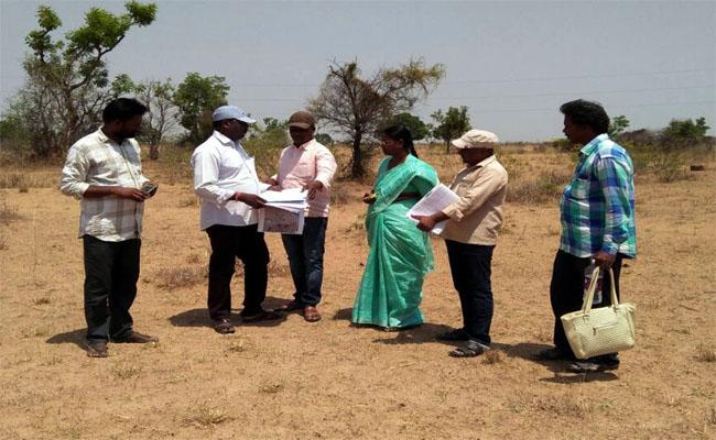 Land Survey in Mahabubnagar District for Mini Airport - Sakshi