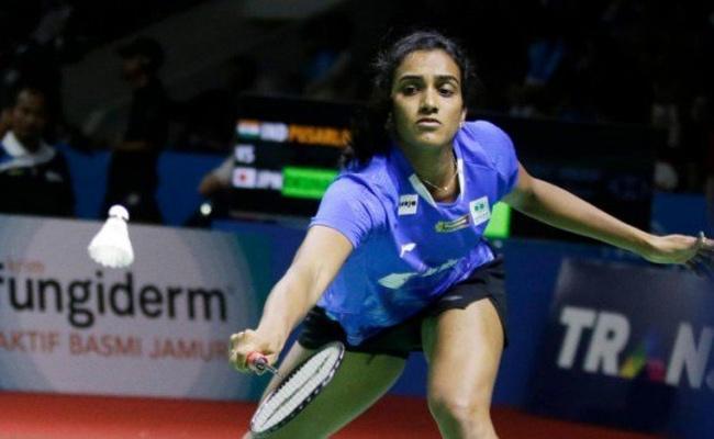 PV Sindhu Loses Indonesia Open Final to Akane Yamaguchi - Sakshi