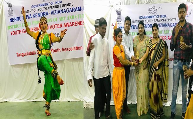 A Girl Performing Good Dances Of Kuchipudi, Bharathanatyam In Visakhapatnam - Sakshi
