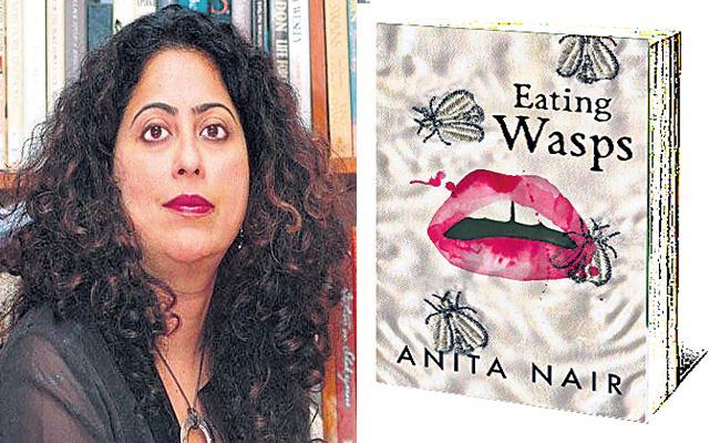 Anita Nair Eating Wasps Book Review  - Sakshi