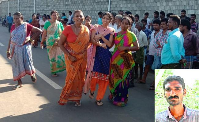 Tractor Driver Brutally Killed In K Biragunta - Sakshi