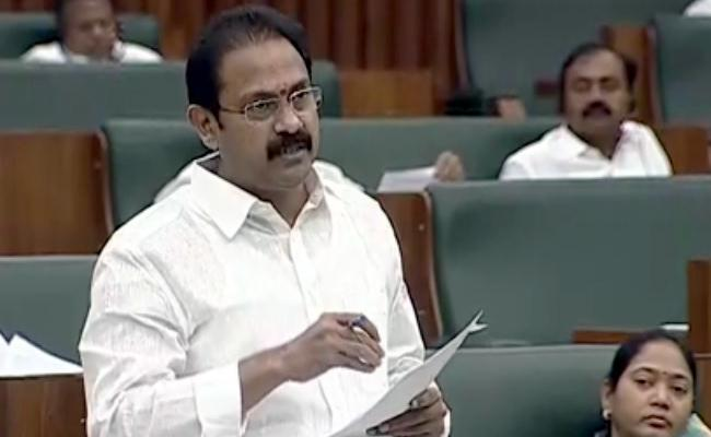 Minister Alla Nani Comments In AP Assembly Over 108 Vehicles - Sakshi