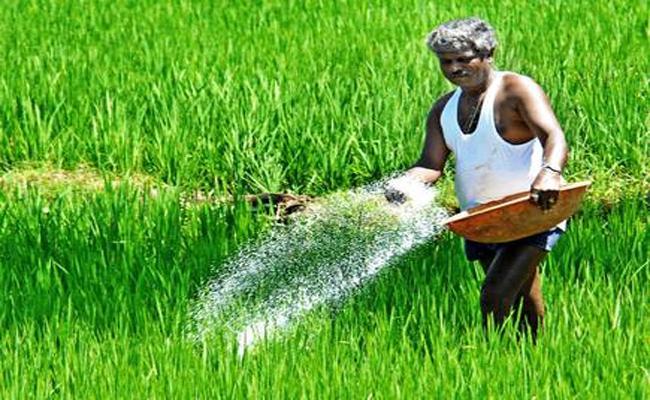 The Central Govt. Has Announced To Reduce The Complex Fertilizers Price Except Urea - Sakshi