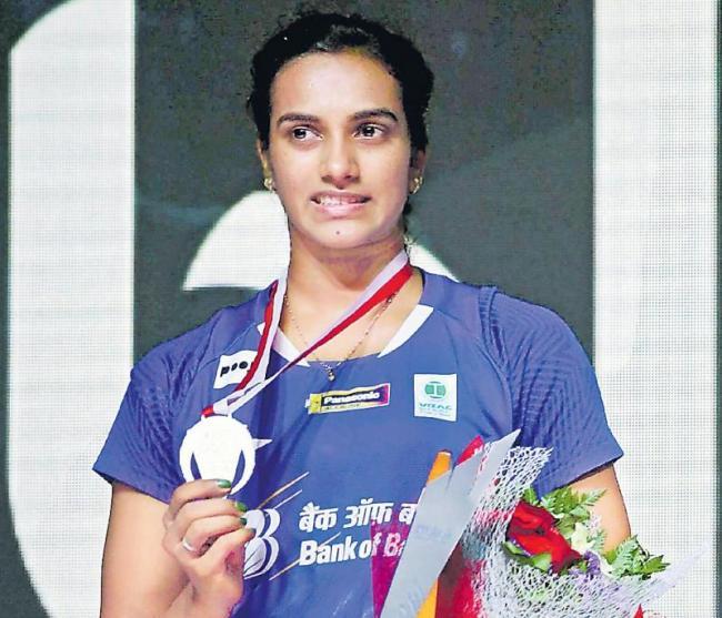 P V Sindhu ends runner-up at Indonesian Open - Sakshi