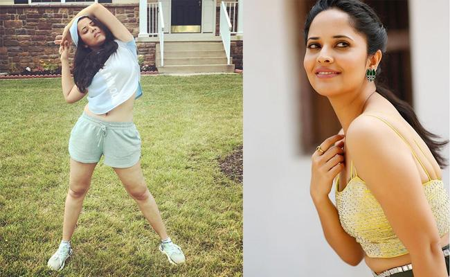 Fake Posts in Social Media on Anasuya Named - Sakshi