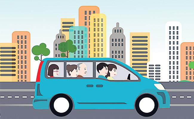 Car Pooling Demand in Hyderabad - Sakshi