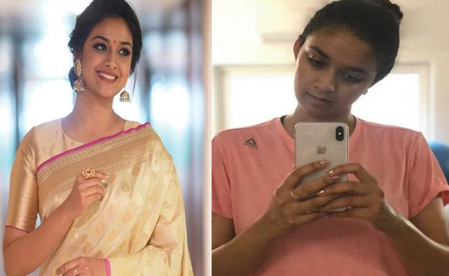 Keerthy Suresh Rejects Telugu Movie For Boni Kapoor Movie - Sakshi