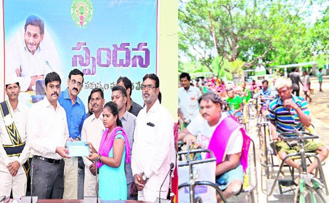 Spandana Programme Successfully Running in Srikakulam - Sakshi
