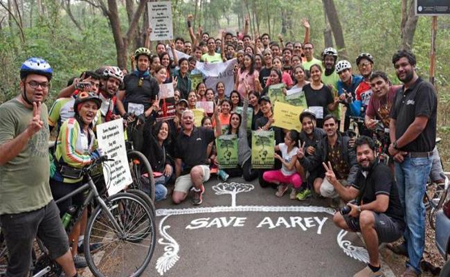 Mumbai Activists Fight To Save Aarey Colony - Sakshi