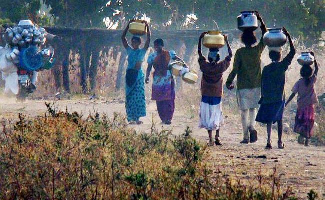 Water Problems in Visakhapatnam Agency Area - Sakshi