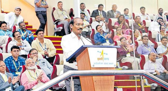 ISRO Chairman K Sivan speaks about the work behind Chandrayaan 2 - Sakshi