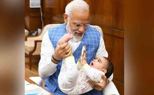 Narendra Modi Shares Very Special Friend Photos On Instagram - Sakshi