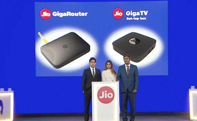 Jio GigaFiber to Launch Commercial on August 12 Report - Sakshi