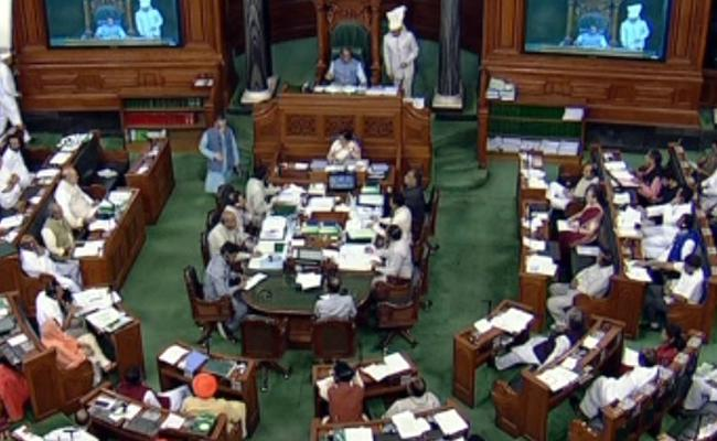 Ruckus In Parliament Over Trump Comments - Sakshi
