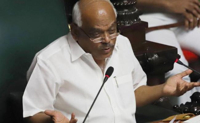 Karnatak Speaker Ramesh Kumar Emotional Speech In Assembly - Sakshi
