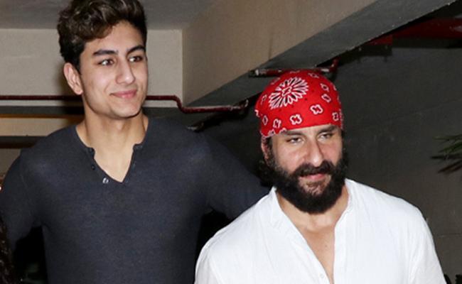 Saif Ali Khan Son Ibrahim Ali Khans Debut  In Bollywood - Sakshi