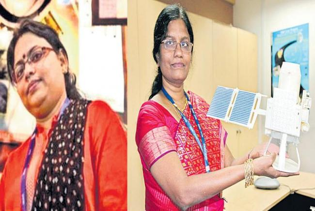 Two women scientists leading the Chandrayaan-2 launch - Sakshi