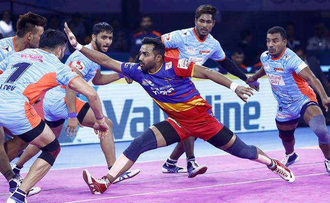 Pro Kabaddi League Bengal Warriors Beat UP Yoddha - Sakshi