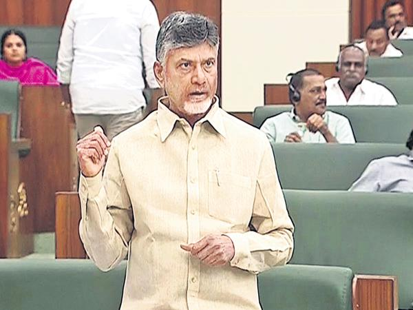 Chandrababu comments at a press conference - Sakshi