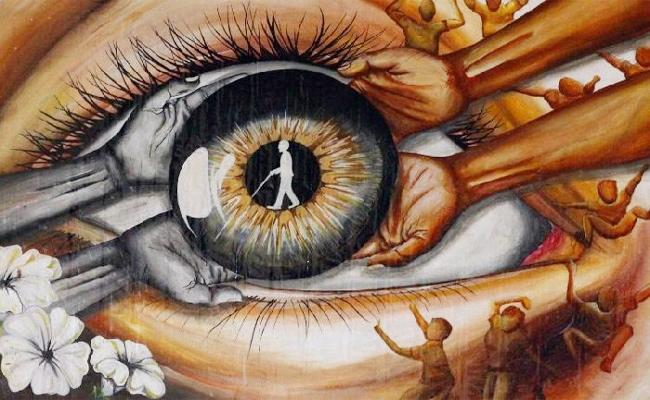 Awareness on Eye Donations - Sakshi
